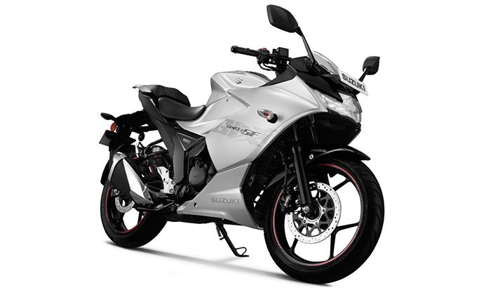 suzuki gixxer sf metallic sonic silver - Top 10 Sports Bikes in India List (2019)